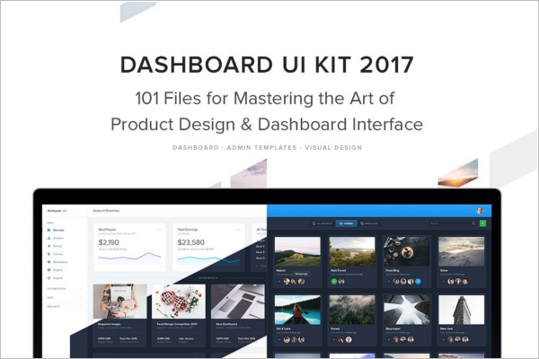 Elegant Dashboard UI Kit