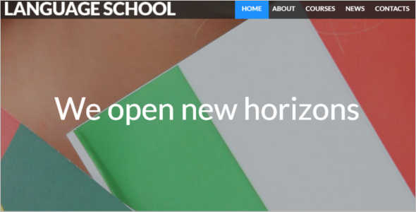 Elegant Education Blog Template