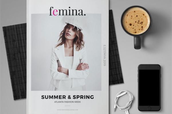 Elegant Femina Magazine Template