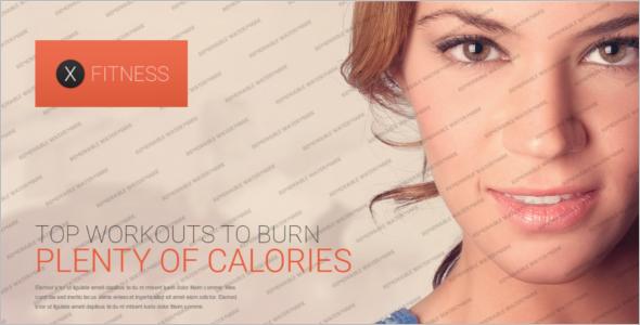 Elegant Fitness Website Template