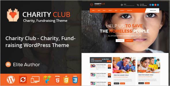 Elegant Fundraising WordPress Theme
