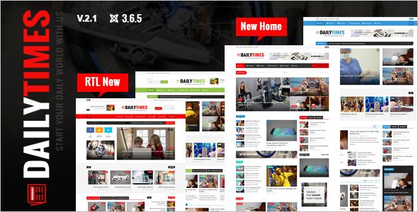 Elegant News Joomla Template