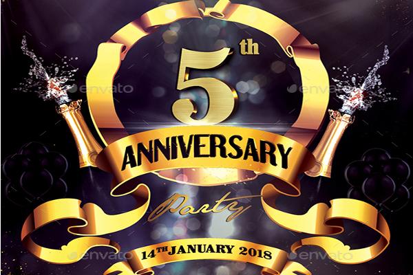 Elegant Nightclub Celebration Flyer