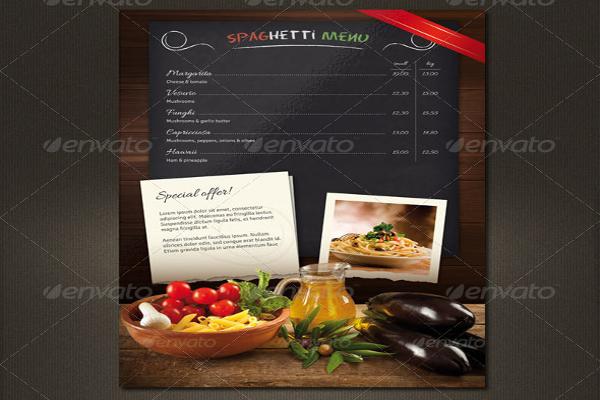 Elegant Restaurant Menucard Flyer