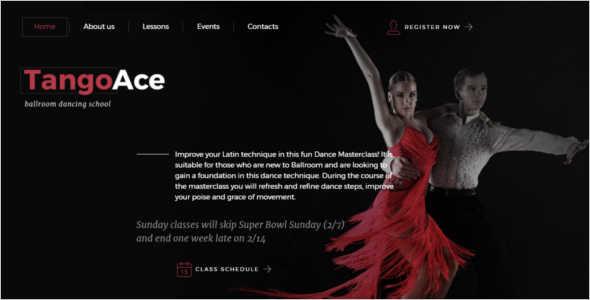 Elegant Studio Website Template