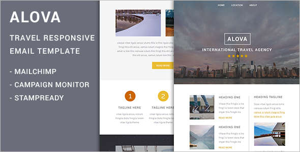 Elegant Travel Email Template