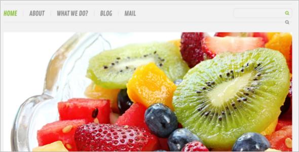 Elegant Weight Loss WordPress Template