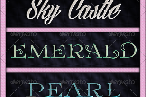 Emerald Fancy Quality Text