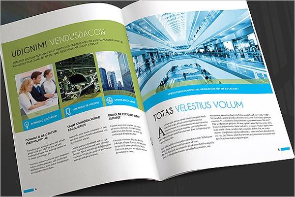 Enticing Flat Design Brochure
