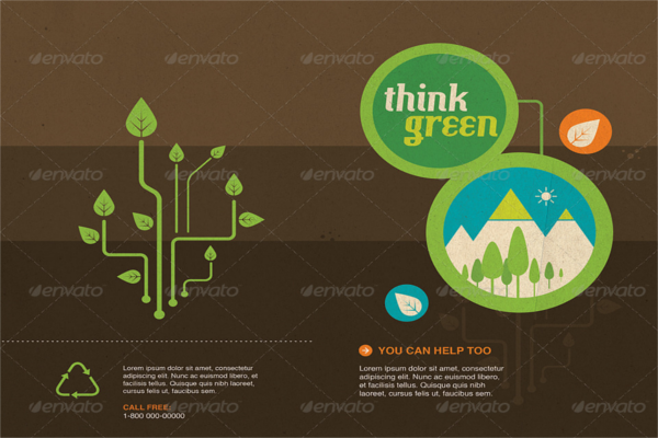 Enticing Recycle Design Brochure