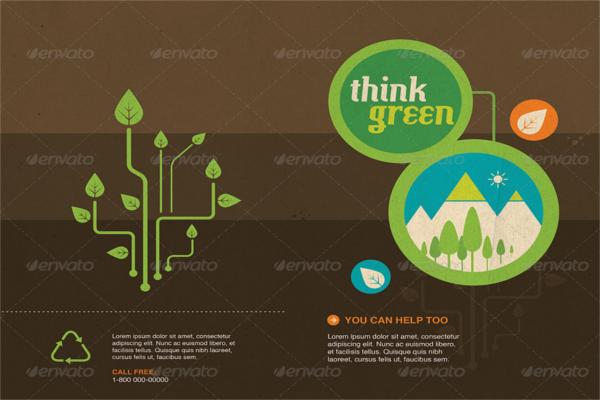 Enticing Recycle Design Brochure