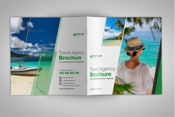Enticing Tourism Square Brochure