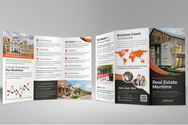 Exciting Travel Trifold Brochure