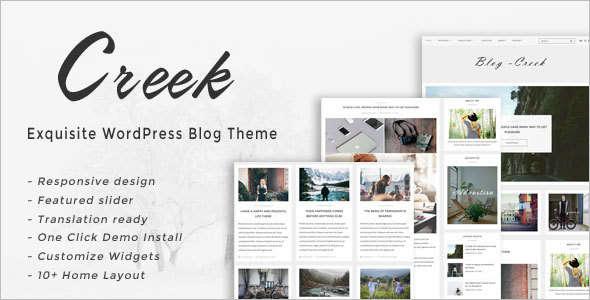 Exquisite WordPress Tem-plate