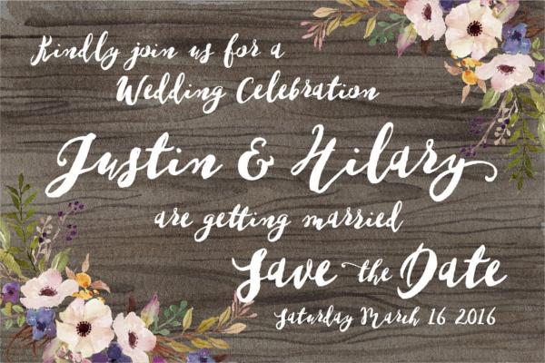 Fancy Wedding Fonts Design