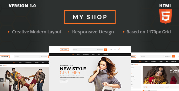 Fashion Retail HTML Template