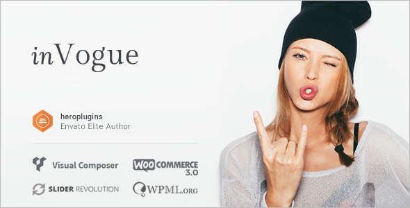 Fashion Retail WordPress Theme
