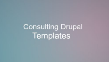 Consulting Drupal Templates