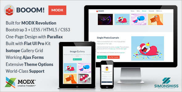 Fexible MODX Template