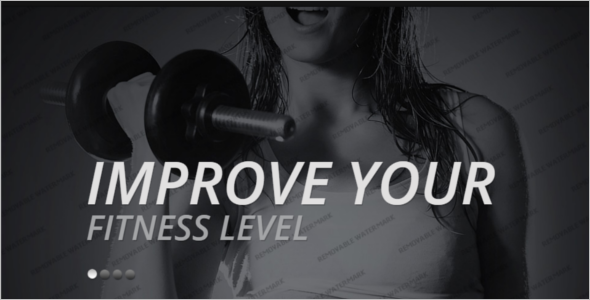 Fitness Bootstrap Website Template