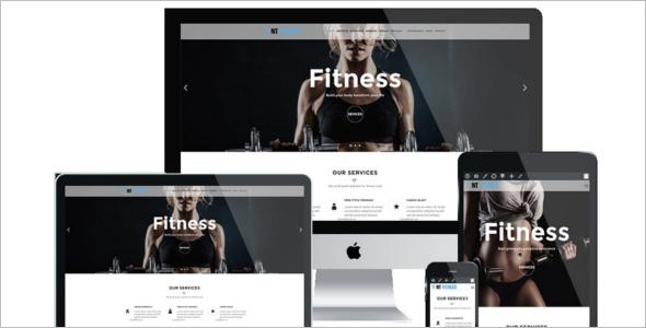 Fitness Business Website Template