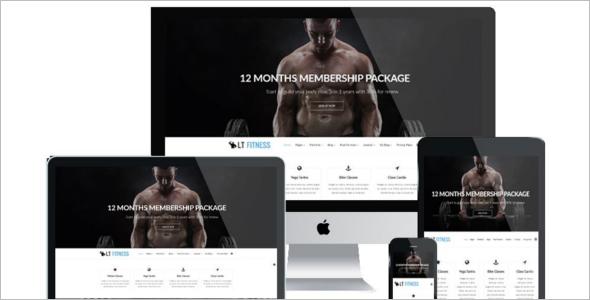 Fitness Joomla Website Template