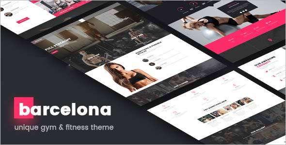 Fitness Retail WordPress Theme