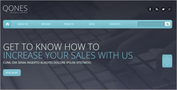 Flat Marketing Agency Drupal Template