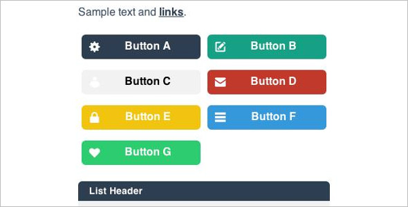 Flat-UI Theme In Jquery Mobile Template