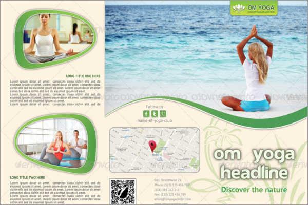 Flexiable Yoga Brochure Template