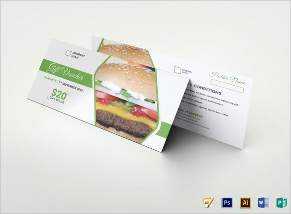 Food Payment Voucher Template