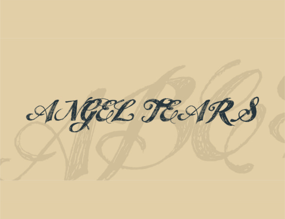 Free Exclusive Angel Tears Font