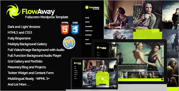 FullscreenPhoto Gallery Bootstrap Template
