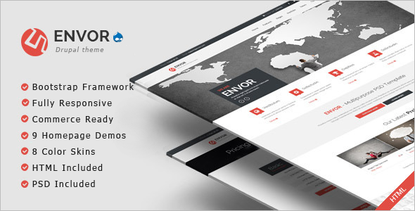 Fully Software Drupal Template