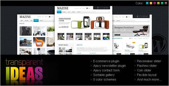 Furnature E-commerce WordPress Theme