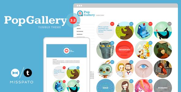 Gallery Photography Tumblr Theme