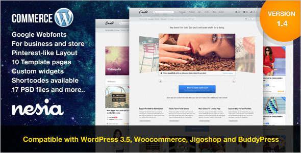 Gallery Retail WordPress Theme