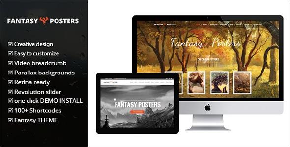 Game design WordPress Theme
