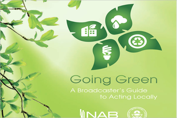 Go Green Awareness Brochure Design