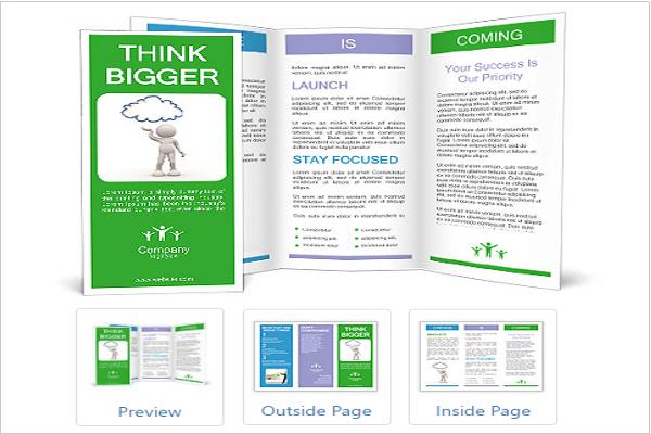 Global Warming Awareness Brochure Ideas