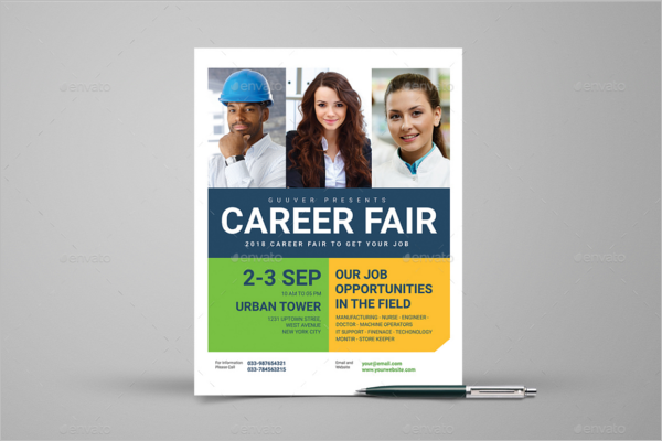Graduate Corporate Fair Flyer