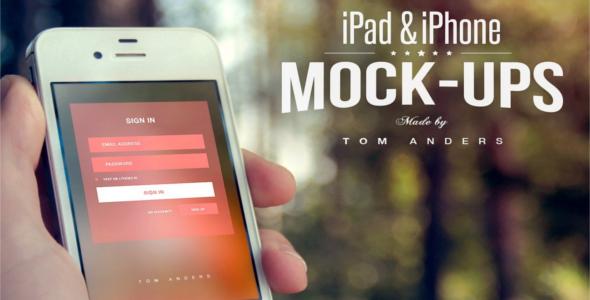 Graphic Mock-Up UI Design