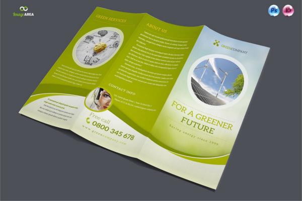 Green Tri-Fold Company Brochure