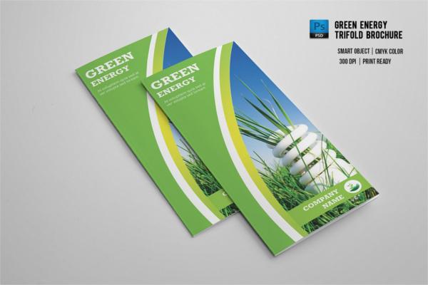Greenary Environmental Brochure Ideas