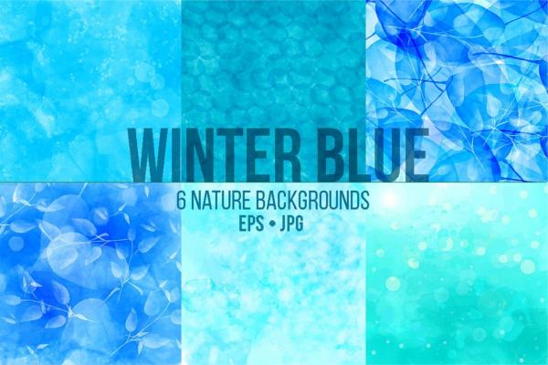 Grunge Sea Blue Texture Design