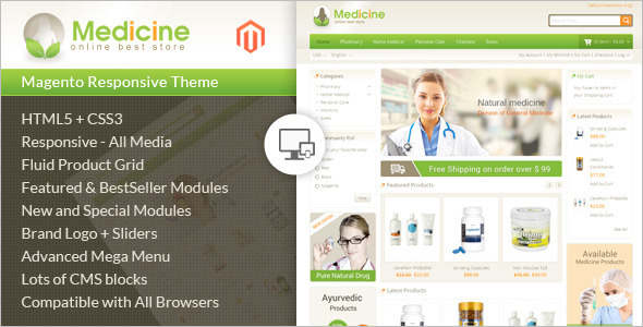 Health & Beauty Equipment Magento Template