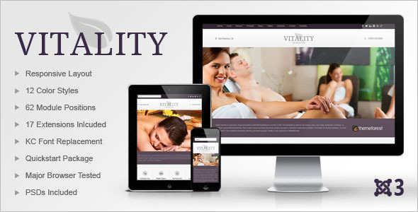 Health & Beauty Publisher Joomla Template