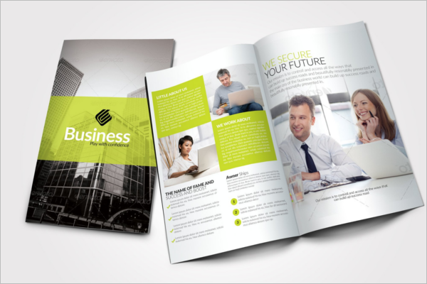 High-Quality Design Business Brochures