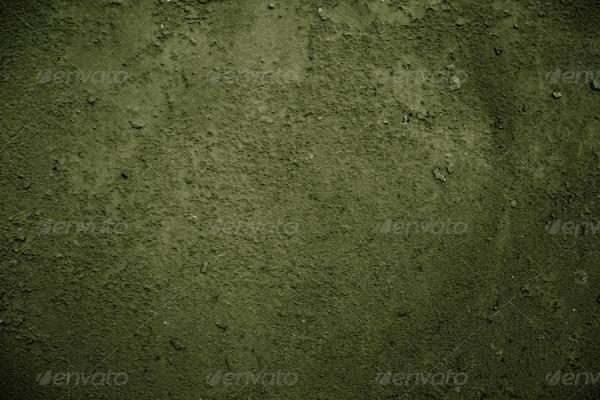 High-Resolution Gloomy Green Textures