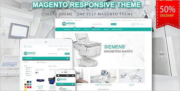 Hospital Equipment Magento Template